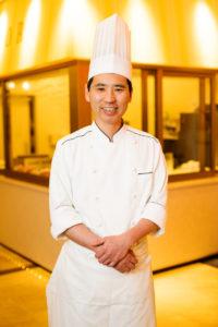 三田ホテル 製菓副料理長 松本 光正